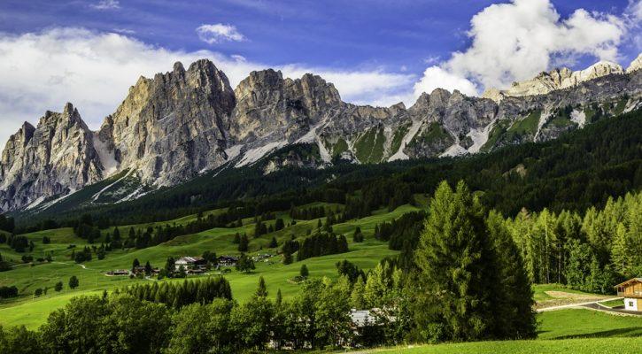 Alpen zomer