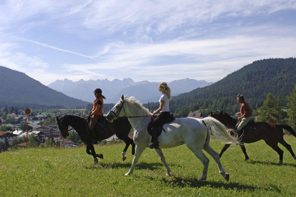 Paardrijden Alpen