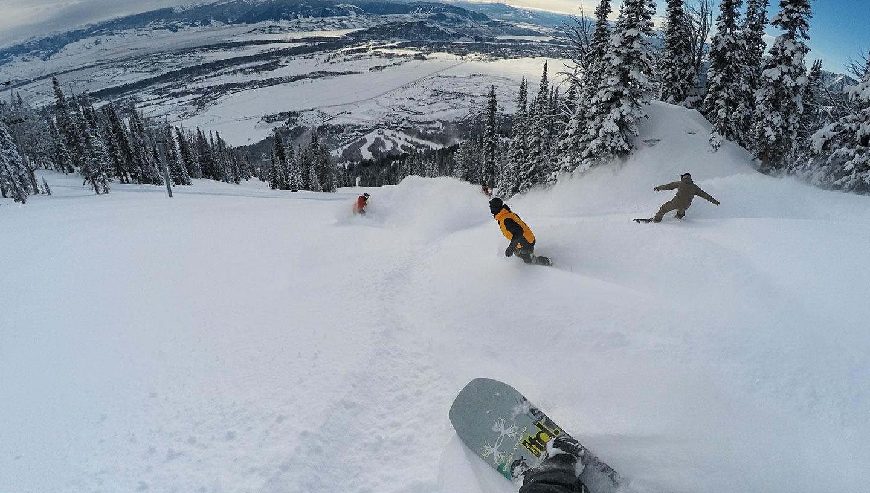GoPro skifoto's maken