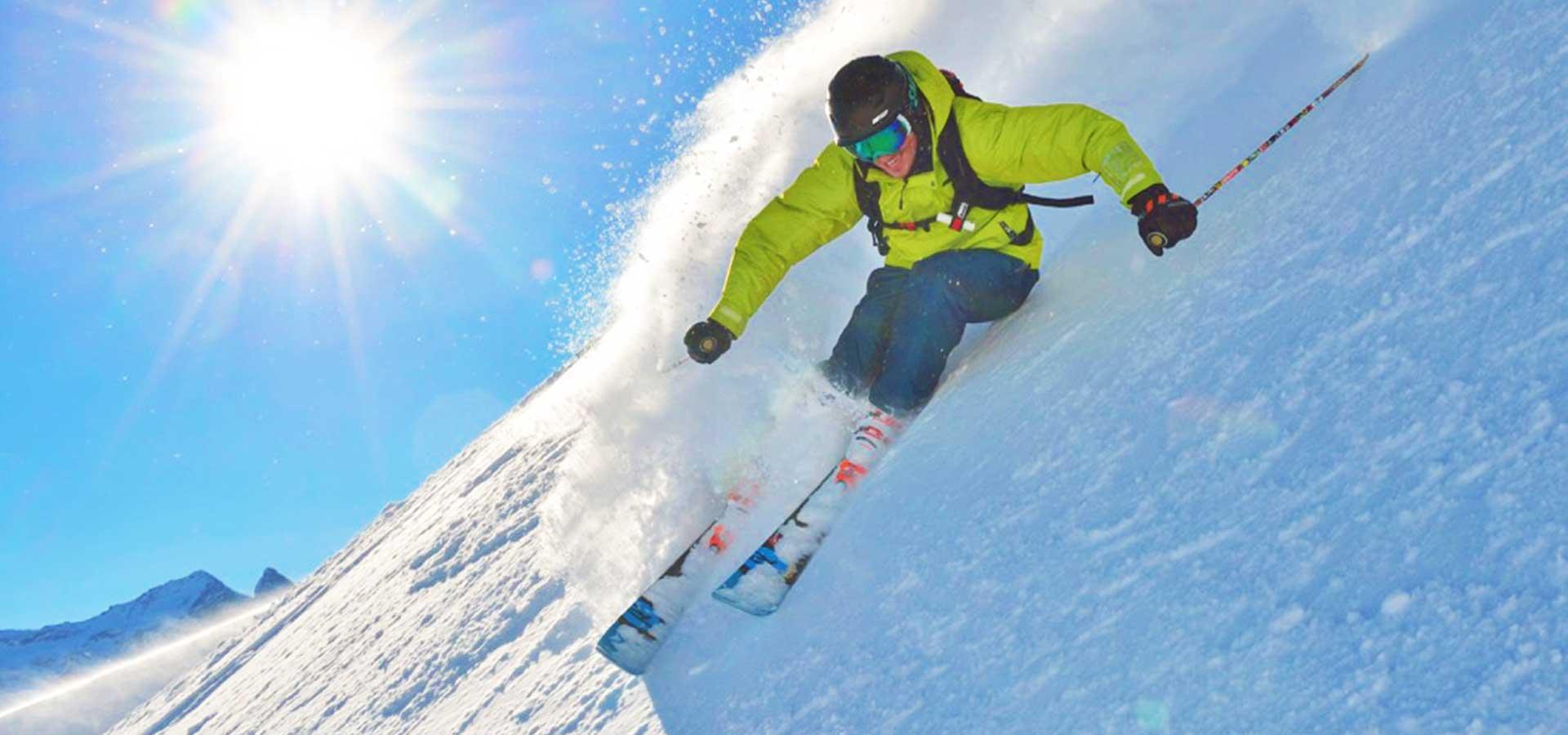 Voorbereiding skiën