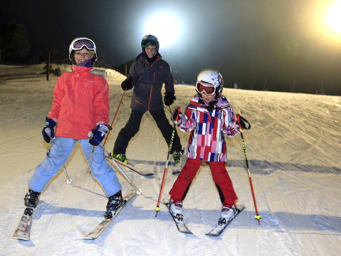 Voorbereiding skivakantie